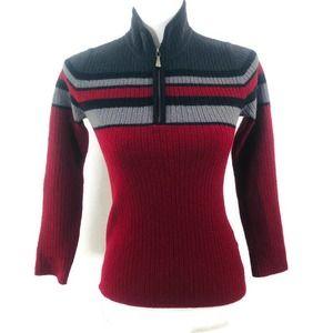 Armani Exchange 1/4 Zip Sweater Size Small